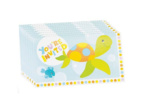 Under the Sea Invitations (8 ct)