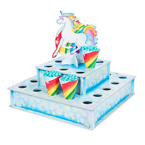 Rainbow Unicorn Party Treat Stand