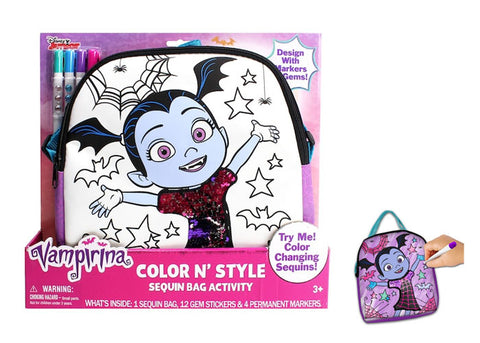 Vampirina Color N' Style Sequin Purse