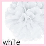 Tissue Pom Poms - 12 inches (click for more colors)