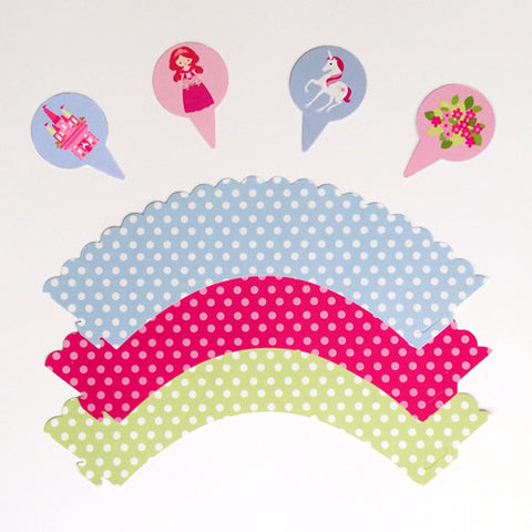 Princesses and Unicorns wraps and picks