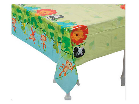 Zoo Birthday Table Cover
