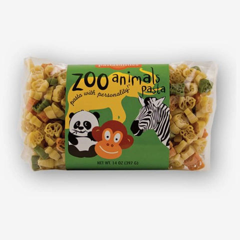 Zoo Animals Fun Shaped Pasta