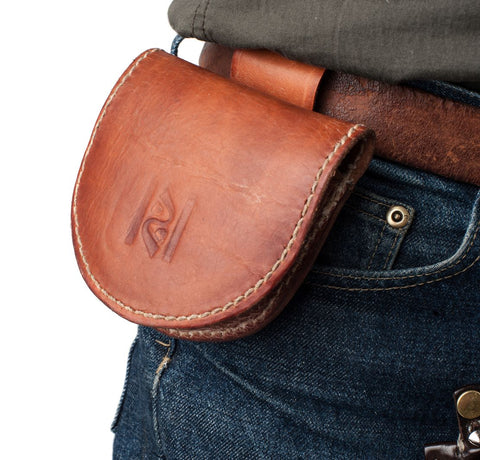 2 Pocket Moulded Belt Purse