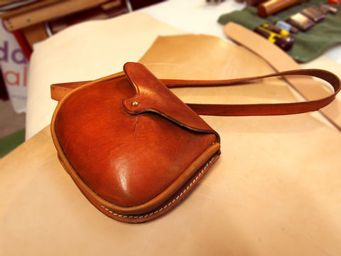 Sporran Type Leather Bags
