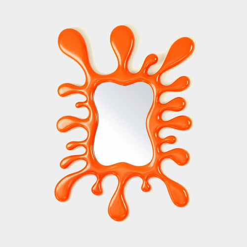 Funky Flower Power Wall Mirror