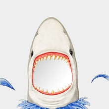 Load image into Gallery viewer, Great White Shark Wall Mirror