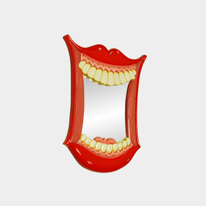 Smiling Mouth Wall Mirror