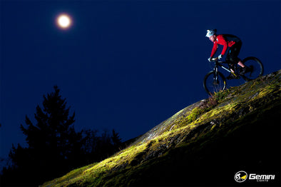 MTB Night Photo Shoot in Victoria, BC