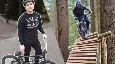 Getting better at mountain biking by riding BMX!