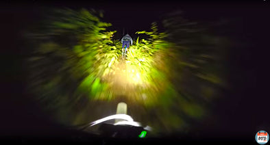 POV Night Ride with DailyMTBRider | Gemini Titan 4000 Lumens