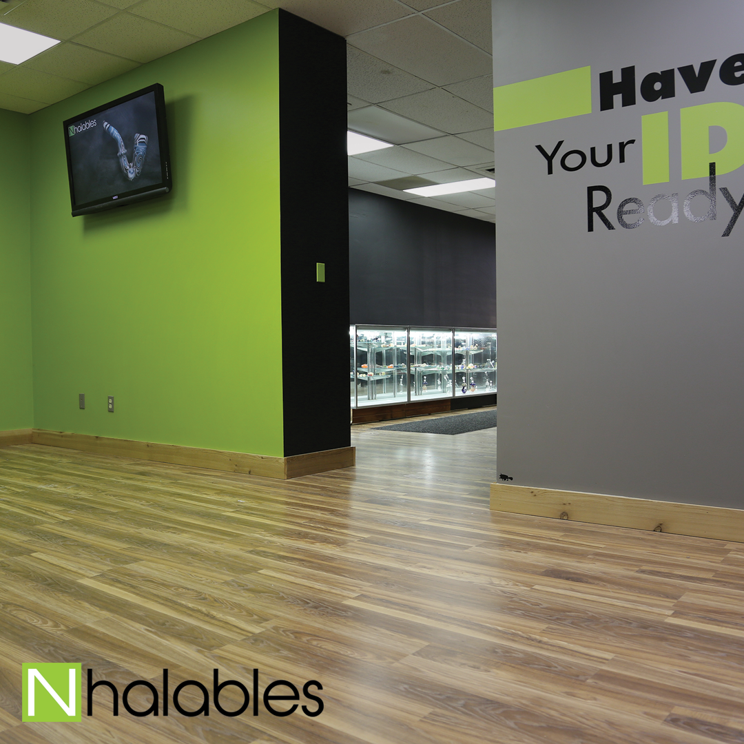 Nhalables Social Post showing the newly remodeled store