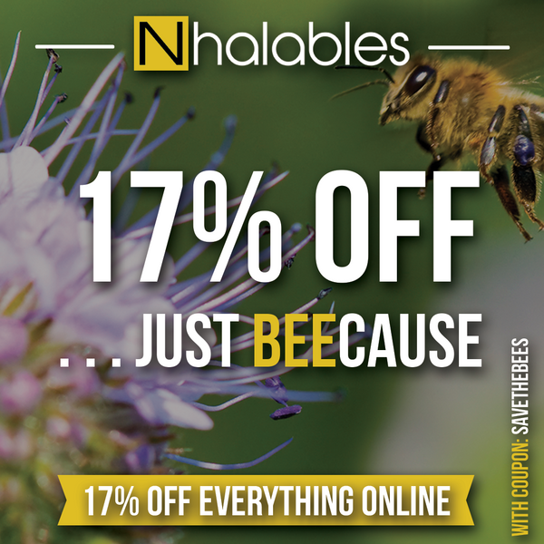 17% off July 10th 2018 . . . Just Beecause