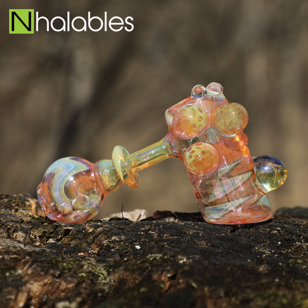 Davenci Glass Fumed Hammer Bubbler