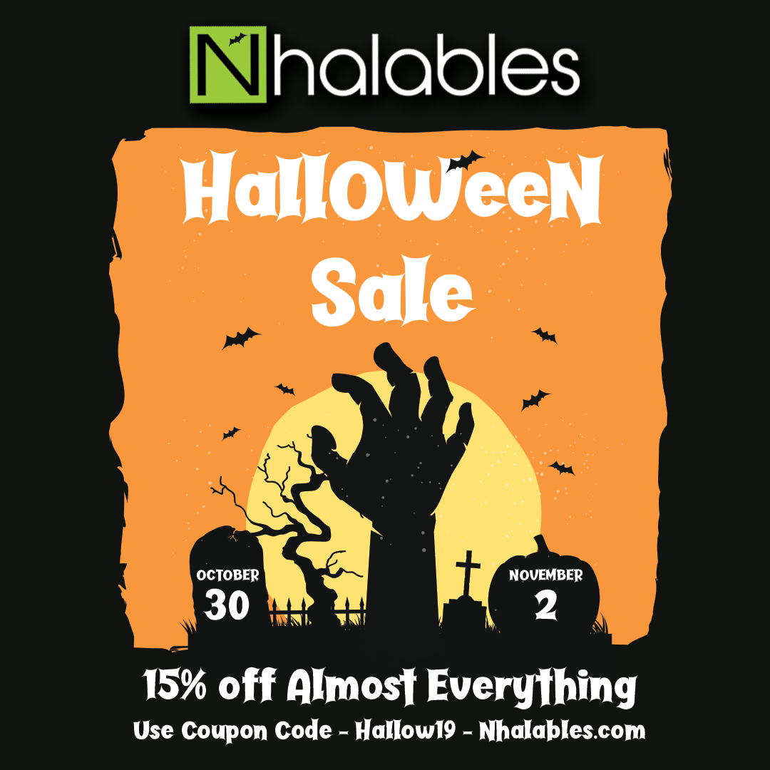 Nhalables Social Post for 2019 Halloween Sale