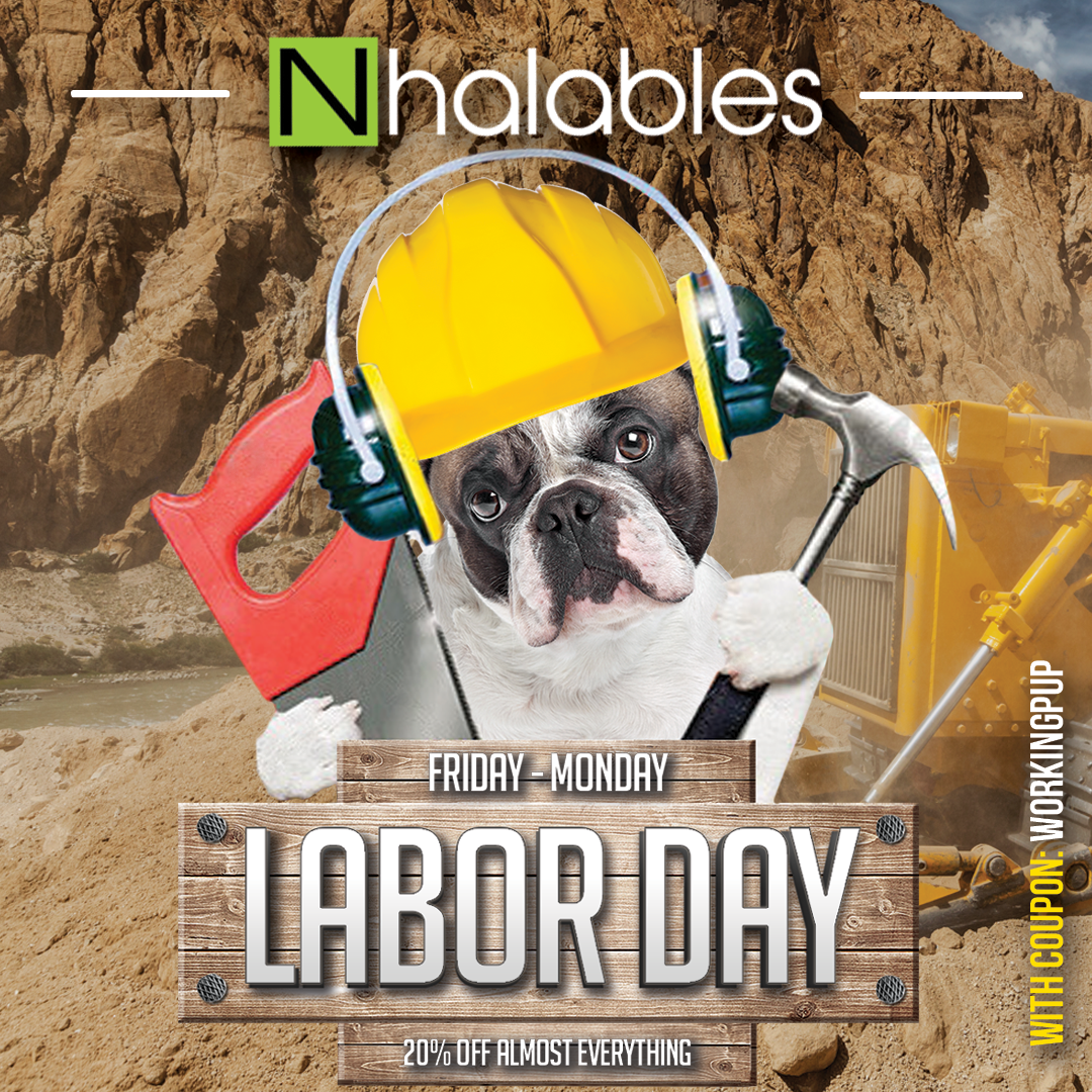 Nhalables Social Image for a Labor Day 2019 Sale