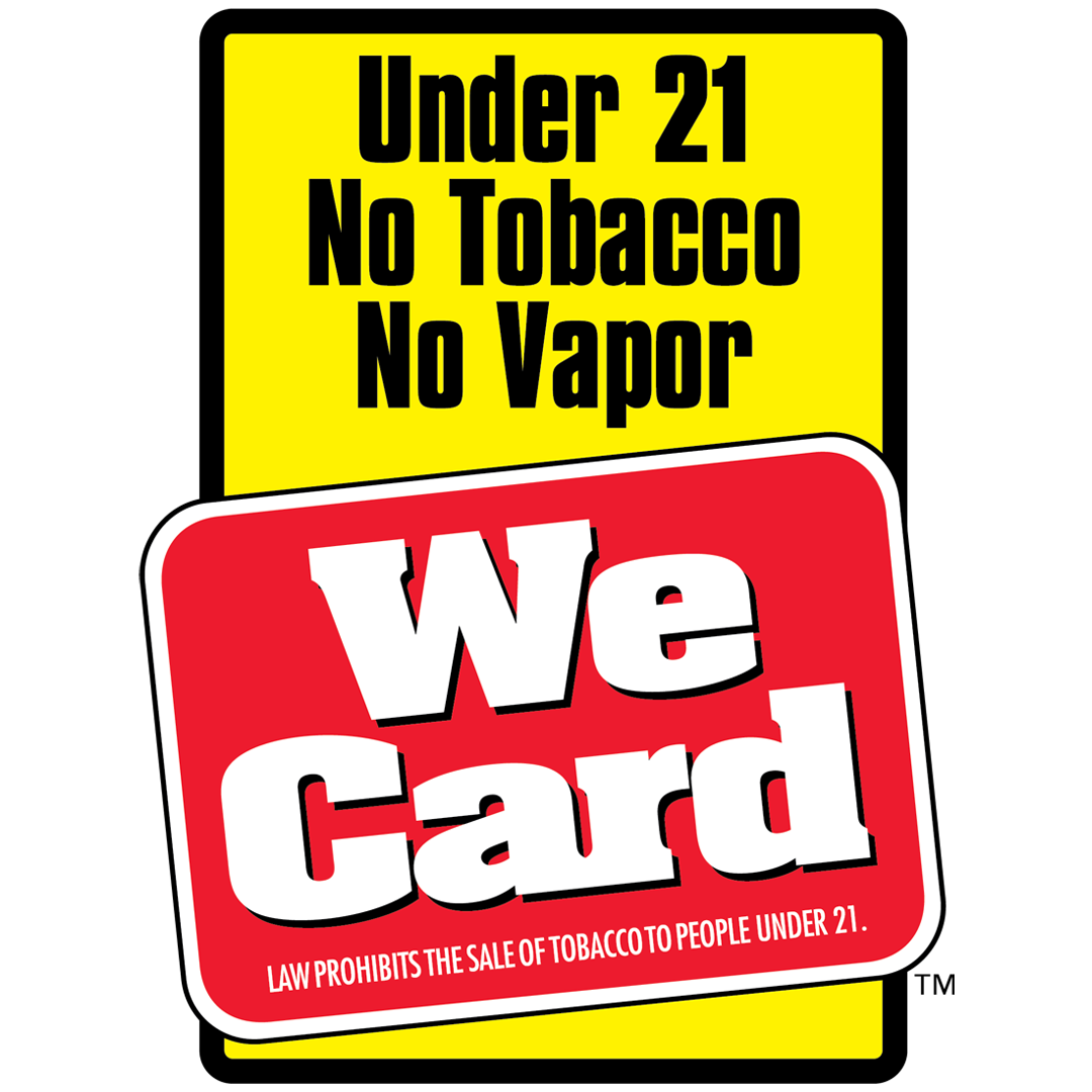 Tobacco Sales in Ohio are 21 and Older Now!