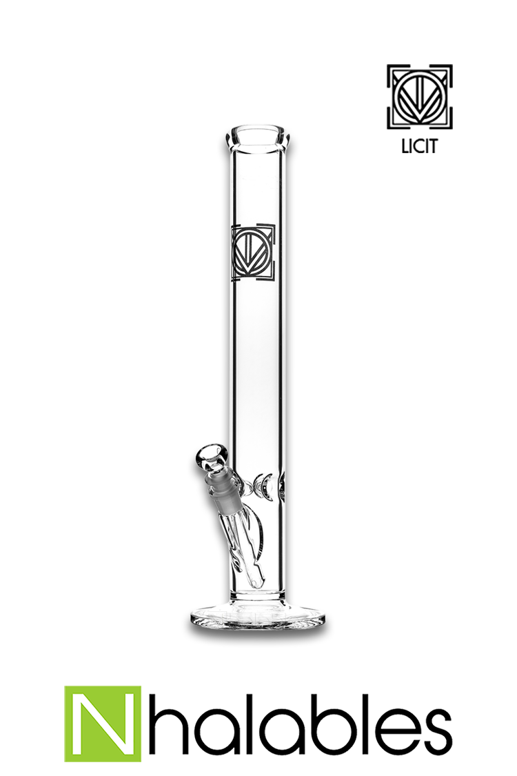 Nhalables Product View Image for am 18 inch - 50 x 5 Straight Waterpipe by Virginia Based Licit Glass (@licit)