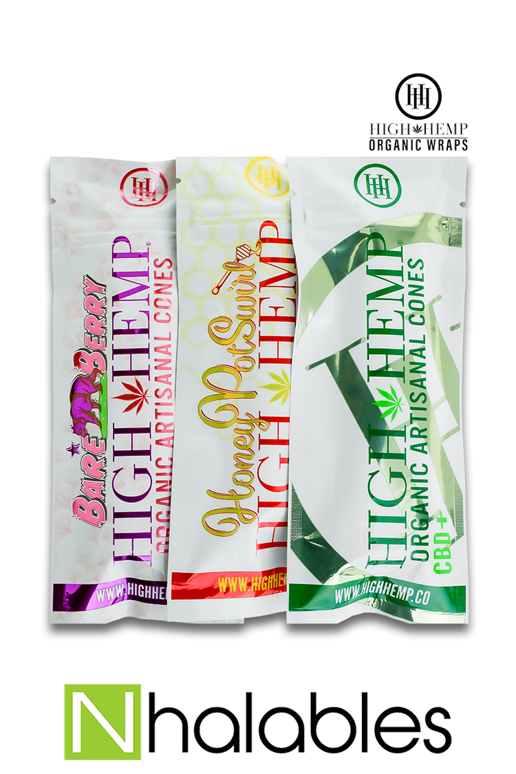 Nhalables Product image for High Hemp - All Natural Hemp Cones