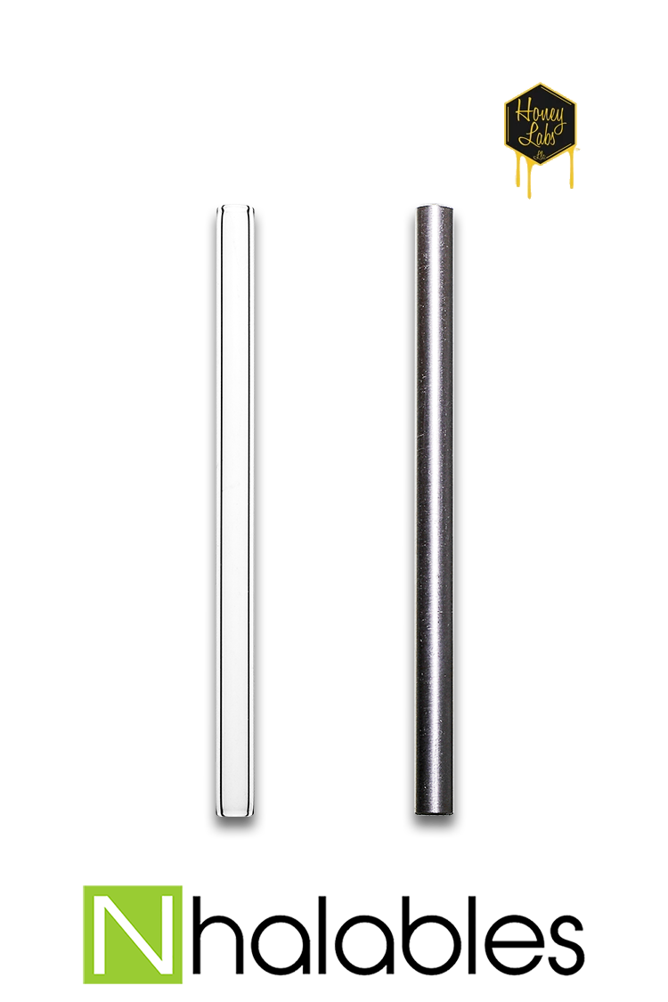 Nhalables Product Image for Replacement Titanium or Quartz Tips for a HONEY LABS HONEY DABBER II CONCENTRATE STRAW