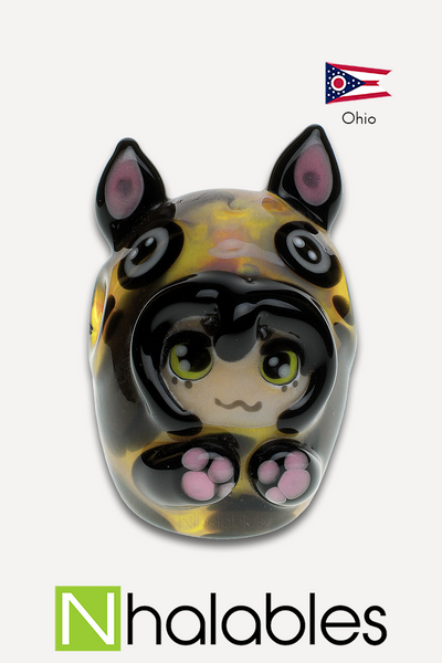 Nhalables Product Image for Kawaii Glass / SakiBomb HackySacky - Mao the Neko Kigurumi girl *Collab