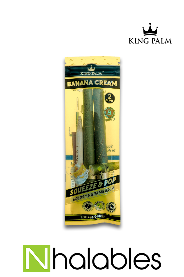 Nhalables Product Image for King Palm - All Natural Leaf Banana Cream
