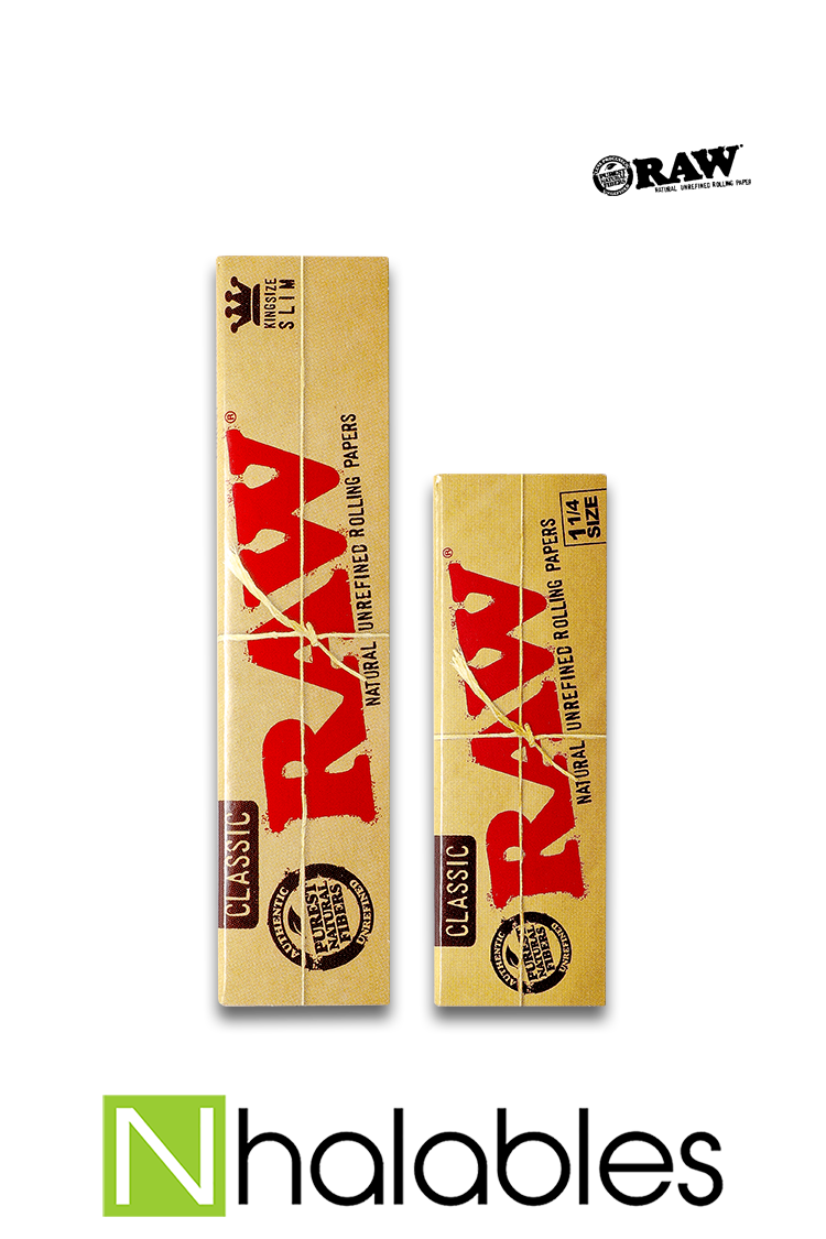 Nhalables Product Image for Raw Classic Rolling Papers