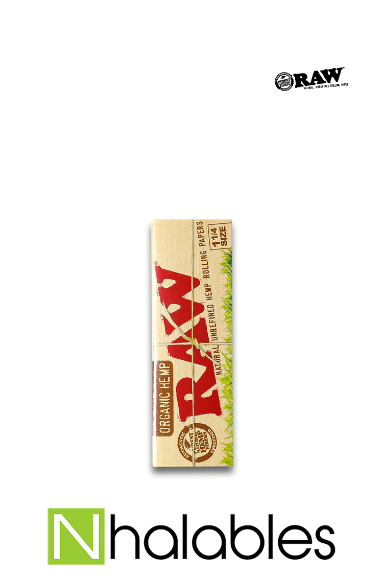 Nhalables Product Image for Raw - Organic Rolling Papers