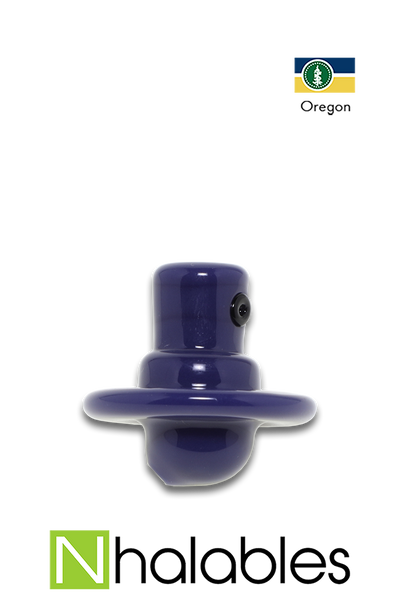 Nhalables Product Picture For a Blue Rone Glass (Oregon) Spray Can Flat Carb Cap