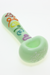 Nhalables Product Image for a White Chocolate Glass hand wrote love you hand pipe  - Green Colored