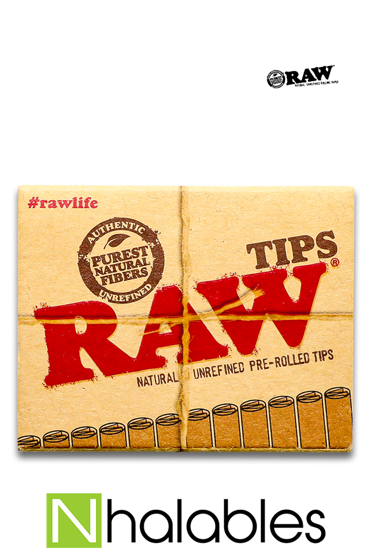 Nhalables Product Image for Raw Pre-Rolled Rolling Tips
