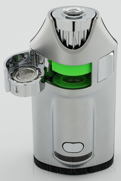 Nhalables Oven Door View Image for the MV1 by Ghost Vapes.  A Portable Dry Herb / Concentrate Convection Vaporizer.