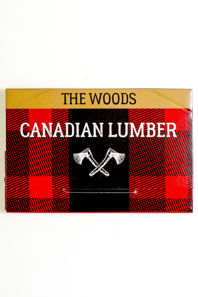 Nhalables actual image for a Canadian Lumber The Woods 100% All natural wood pulp rolling paper