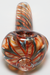 Nhalables Cap View Image for a Red Spin Spoon Hemp Hand Pipe by New York Based Glassblower HawkGlass (Craig)