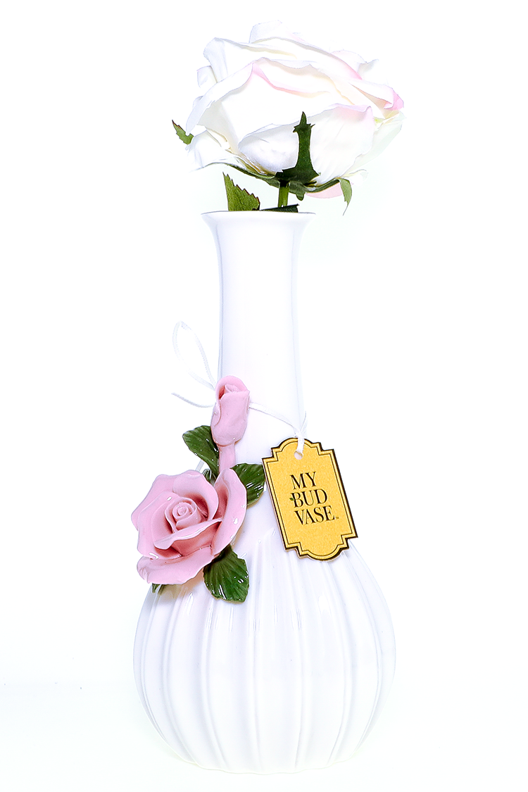 "Nhalables Actual Backside Image for a Imported ""My Bud Vase"" Rose *Pink Waterpipe"