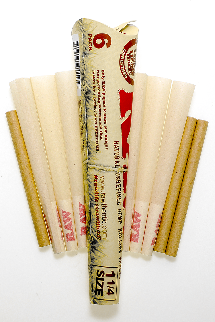 Nhalables Product Image for Raw Rolling Papers Organic Cones