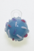 Nhalables Actual View Image for a Renee Patula (Sweetshop Glass , Oregon) Blue Cake Pop with Sprinkles Glass Pendant