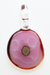 "Nhalables Front View Image for a Rum Ham Slice Pendant by Oregon based glassblower Ryan Rosburg ""Rosburg Glass"""