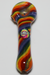 Nhalables Actual Image for a Sandmaster Glass (Michigan) Rainbow Handpipe