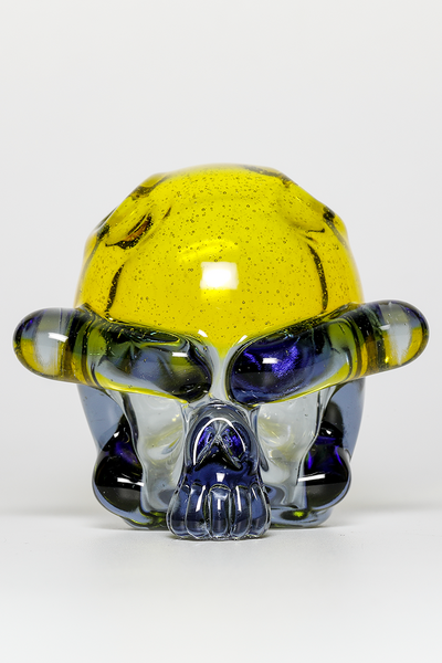 "Nhalables CFL Image for a ""Tuskum Glass"" Skull Pendant *CFL Potion / Terps"