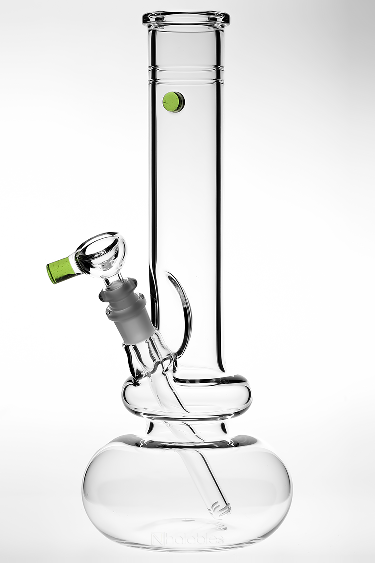 Nhalables Angled View Image for a Zombie Hand Studios (Arizona) Medium Double Bubble *50 x 5 (Absinthe) Waterpipe