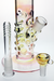 Nhalables Grip View image for Karl Termini (Termini Tubes) Gold and Silver Fumed Straight Tube Waterpipe