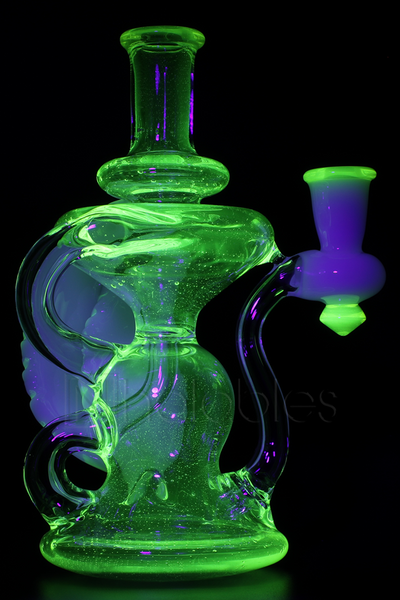 Hawk Glass - Klein Recycler *UV Illuminati