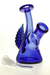 Nhalables Front View Image for a blue feather jammer Ohio based artist Layz Glass