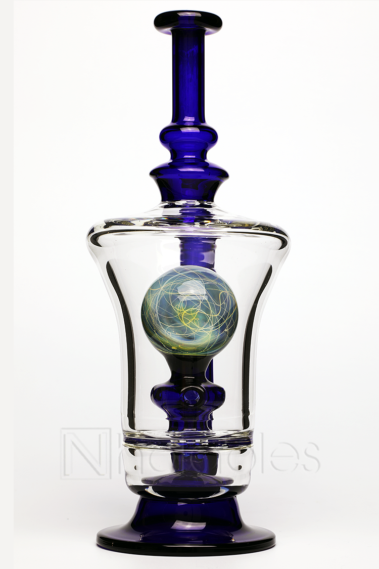 Nhalables Product image for a BTS Glass and Ben Manofsky Collaboration internal marble rig