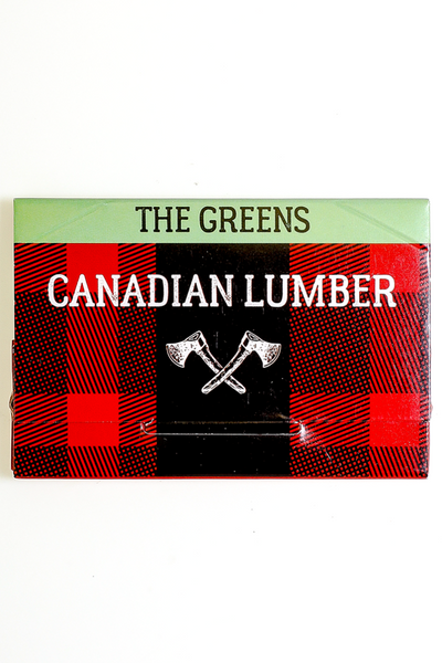 Nhalables actual image for a Canadian Lumber - The Greens 100% All natural hemp rolling paper