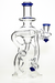Nhalables Left Side Front Image for a Blue Recycler by Hawk Glass (New York, @Hawkglass)