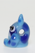 Nhalables Right Side Image for a Kawaii Glass(Ohio) Glass Totoro Pendant Blue