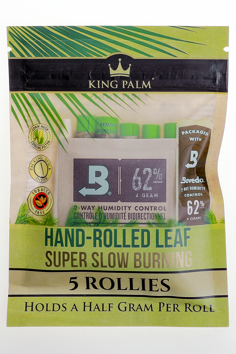 Nhalables Product Image for King Palm - .05Gram Rollies All Natural Leaf