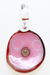 "Nhalables Back view Image for a Rum Ham Slice Pendant by Oregon based glassblower Ryan Rosburg ""Rosburg Glass"""